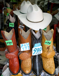 Boots and hats, Mexico