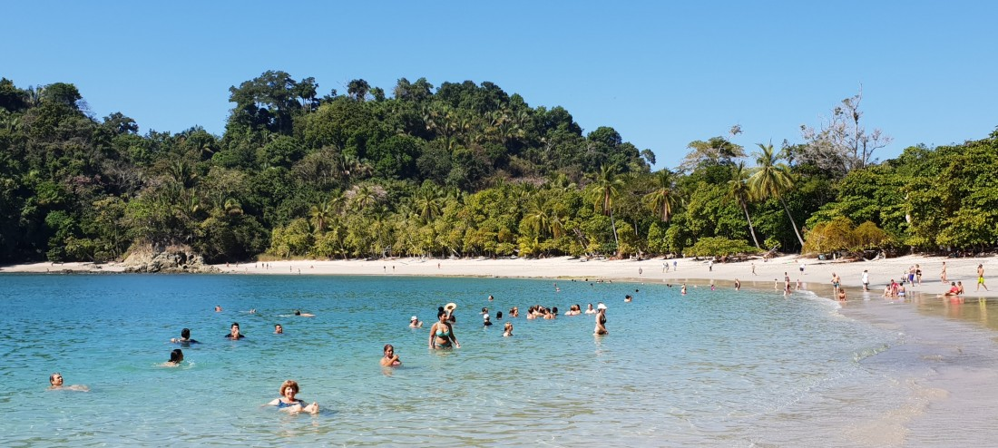 Manuel Antonio swimming beach  - Costa Rica