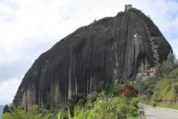 El Penol, a massive granite rock near Guatape