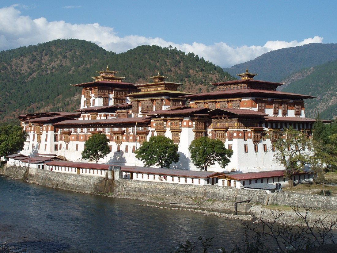 Punakha Dzong, built in 1637