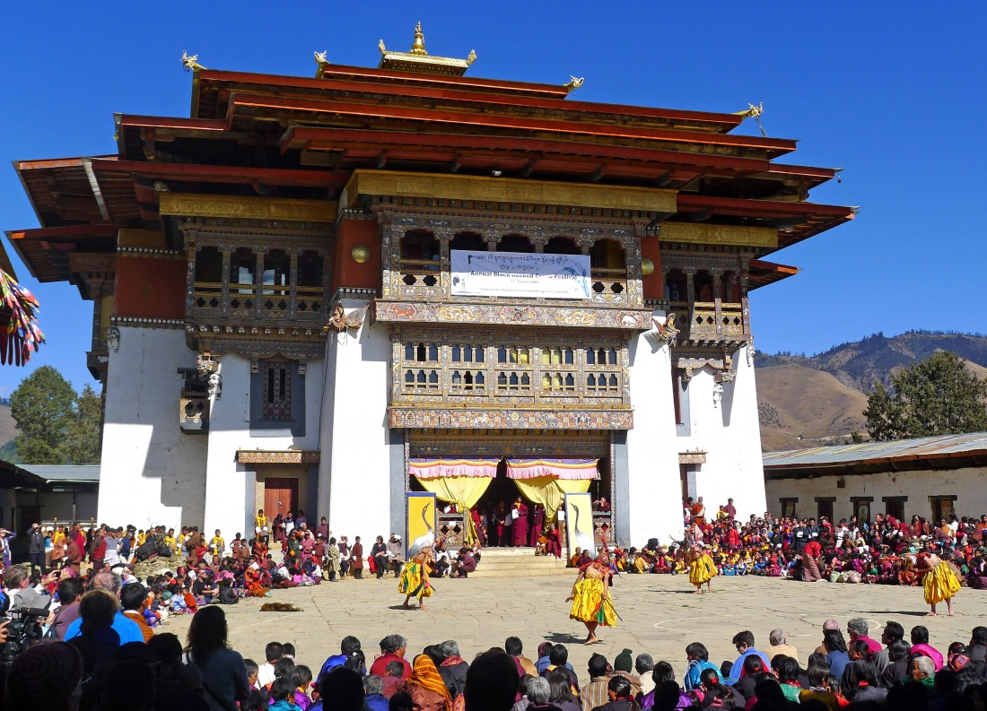 Festival of the Black Cranes - Bhutan