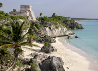 Tulum's ancient Mayan City, what a location!  (Mexico)