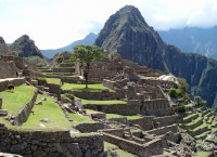 The Inca site of Machu Picchu, Peru