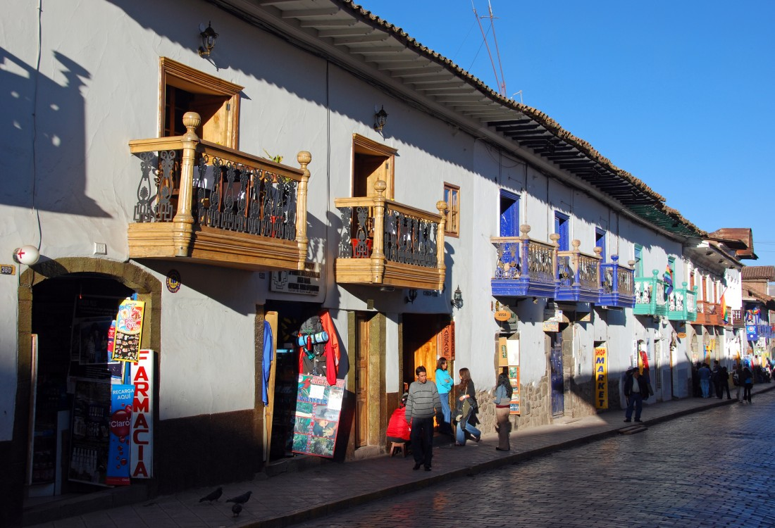 Cusco's colonial streets