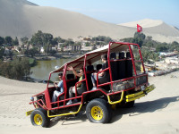A Sand safari at the Huacachina Dunes, Peru