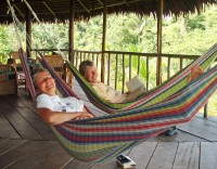 Relaxing in the Amazon, Peru