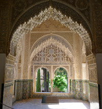 The Alhambra Palace, Granada  (Spain)