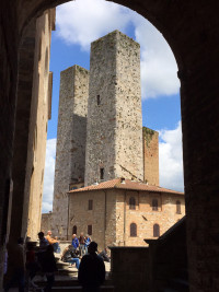San Gimignano - famous for it's towers