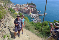 Heading off on the Cinque Terre